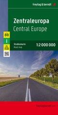 Freytag & Berndt Autokarte Zentraleuropa; Centraal Europa / Europa central