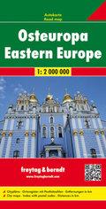 Freytag & Berndt Autokarte Osteuropa; Europa del Este; Oost Europa; Eastern Europe; Europe de l' Est; Europa orientale