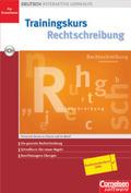Trainingskurs Rechtschreibung, 1 CD-ROM