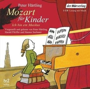 Mozart für Kinder, 1 Audio-CD