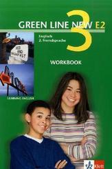 Green Line New (E2): Workbook, 3. Lernjahr; Bd.3
