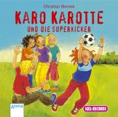 Karo Karotte und die Superkicker, 1 Audio-CD