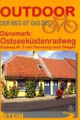 Dänemark: Ostseeküstenradweg, Radweg Nr. 5 von Flensburg nach Skagen