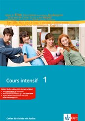 Cours intensif: Cahier d' activities, m. 2 Audio-CDs; Bd.1