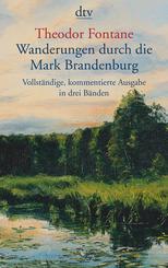 Wanderungen durch die Mark Brandenburg, 3 Bde.
