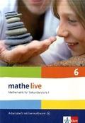 mathe live, Neubearbeitung: 6. Schuljahr, Arbeitsheft m. CD-ROM