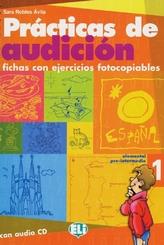Prácticas de audición, m. Audio-CD - Vol.1