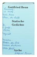 Statische Gedichte, m. Audio-CD