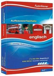 Audiotrainer Aufbauwortschatz Englisch, 4 Audio-CDs