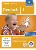 Alfons Lernwelt, Deutsch: 1. Schuljahr, 1 CD-ROM