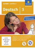 Alfons Lernwelt, Deutsch: 3. Schuljahr, 1 CD-ROM