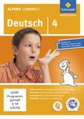 Alfons Lernwelt, Deutsch: 4. Schuljahr, 1 CD-ROM
