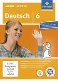 Alfons Lernwelt, Deutsch: 6. Schuljahr, 1 CD-ROM