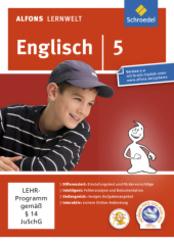 Alfons Lernwelt, Englisch: 5. Schuljahr, 1 CD-ROM