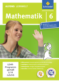 Alfons Lernwelt, Mathematik: 6. Schuljahr, 1 CD-ROM