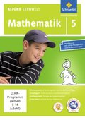 Alfons Lernwelt, Mathematik: 5. Schuljahr, 1 CD-ROM