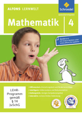Alfons Lernwelt, Mathematik: 4. Schuljahr, 1 CD-ROM