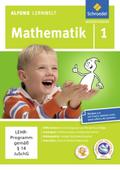 Alfons Lernwelt, Mathematik: 1. Schuljahr, 1 CD-ROM