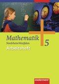 Mathematik, Allgemeine Ausgabe 2006 für die Sekundarstufe I: 5. Klasse, Arbeitsheft