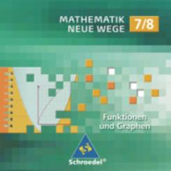 Mathematik Neue Wege, Lernsoftware: 7./8. Schuljahr, 1 CD-ROM