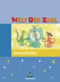 Welt der Zahl, Ausgabe Grundschule Nord: 4. Schuljahr, Arbeitsheft
