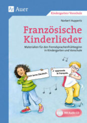 Französische Kinderlieder, m. 1 CD-ROM