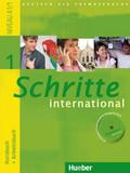 Schritte international - Deutsch als Fremdsprache: Kursbuch + Arbeitsbuch, m. Arbeitsbuch-Audio-CD; Bd.1