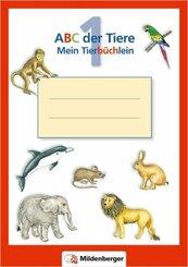 ABC der Tiere: Schreibheftchen - Mein Tierbüchlein