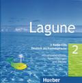 Lagune - Deutsch als Fremdsprache: 3 Audio-CDs; Bd.2
