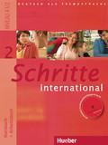 Schritte international - Deutsch als Fremdsprache: Kursbuch + Arbeitsbuch, m. Arbeitsbuch-Audio-CD; Bd.2