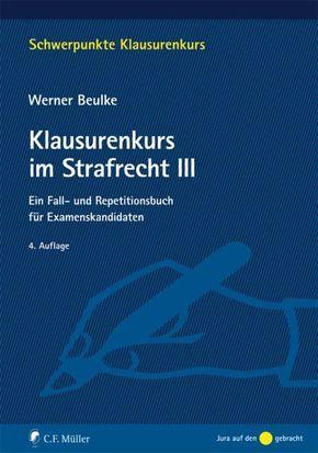 Klausurenkurs im Strafrecht III - Bd.3