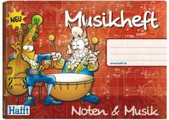 Musikheft (DIN A5 quer)