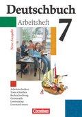 Deutschbuch, Gymnasium Allgemeine Ausgabe, Neue Ausgabe: 7. Schuljahr, Arbeitsheft