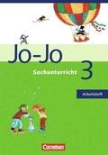Jo-Jo Sachunterricht, Ausgabe N: 3. Schuljahr, Arbeitsheft