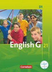English G 21, Ausgabe D: 5. Schuljahr, Schülerbuch; Bd.1