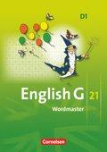 English G 21, Ausgabe D: 5. Schuljahr, Wordmaster; Bd.1