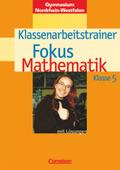 Fokus Mathematik, Gymnasium Nordrhein-Westfalen: 5. Klasse, Klassenarbeitstrainer