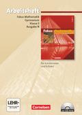 Fokus Mathematik, Gymnasium, Ausgabe N: 5. Schuljahr, Arbeitsheft, m. CD-ROM