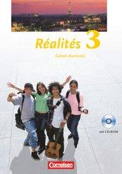 Réalités, Nouvelle édition: Carnet d' activites, m. CD-ROM; Bd.3