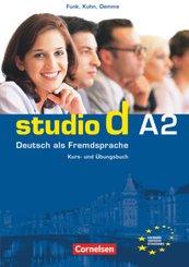 Studio d - Deutsch als Fremdsprache - Grundstufe - A2: Gesamtband