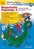 Megastarke Popsongs, Sopran-Blockflöte, m. Audio-CD - H.4
