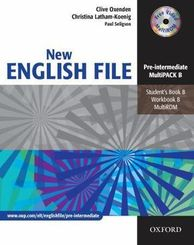 New English File, Pre-Intermediate: Student's Book, Workbook (with Key) and Multi-CD-ROM; B