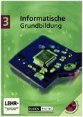 Informatische Grundbildung, m. CD-ROM - Bd.3