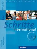 Schritte international - Deutsch als Fremdsprache: Kursbuch + Arbeitsbuch, m. Arbeitsbuch-Audio-CD; Bd.3