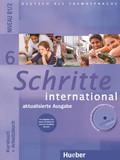 Schritte international - Deutsch als Fremdsprache: Kursbuch + Arbeitsbuch mit Audio-CD zum Arbeitsbuch und interaktiven Übungen; Bd.6