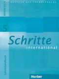 Schritte international - Deutsch als Fremdsprache: Lehrerhandbuch; Bd.5