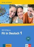 Mit Erfolg zu Fit in Deutsch: Übungs- und Testbuch; Bd.1