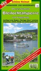 Doktor Barthel Karte Oberes Saaletal, Bleilochtalsperre und Umgebung