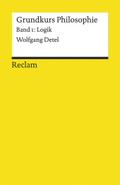 Grundkurs Philosophie - Bd.1