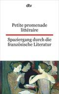 Petite promenade littéraire; Spaziergang durch die französische Literatur